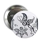 Tribal Butterfly Design 2.25