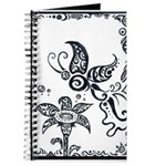 Tribal Butterfly Design Journal