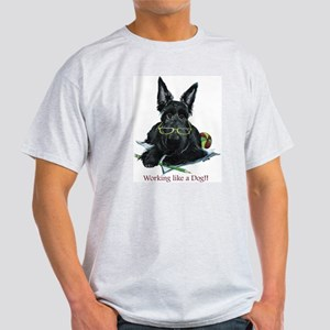 Working Scottie Ash Grey T-Shirt