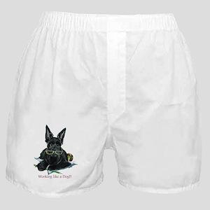 Working Scottie Boxer Shorts