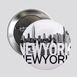 "New York Skyline 2.25"" Button"