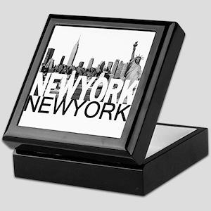 New York Skyline Keepsake Box