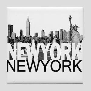 New York Skyline Tile Coaster