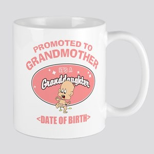 Funny New Grandmother Personalized Mug