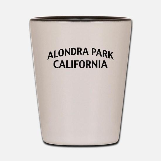 Alondra Park California Shot Glass