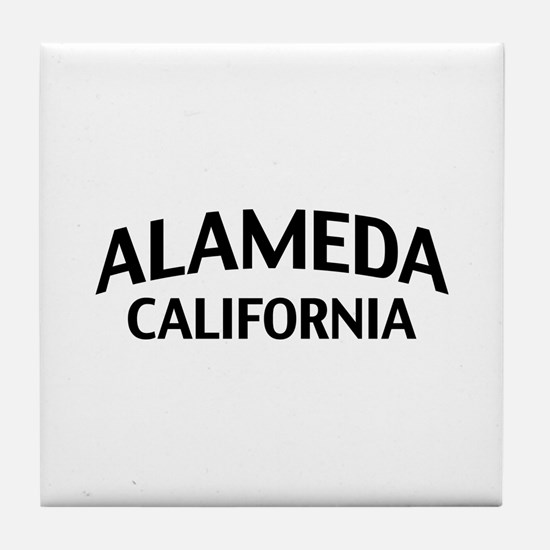 Alameda California Tile Coaster