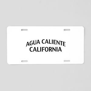 Agua Caliente California Aluminum License Plate