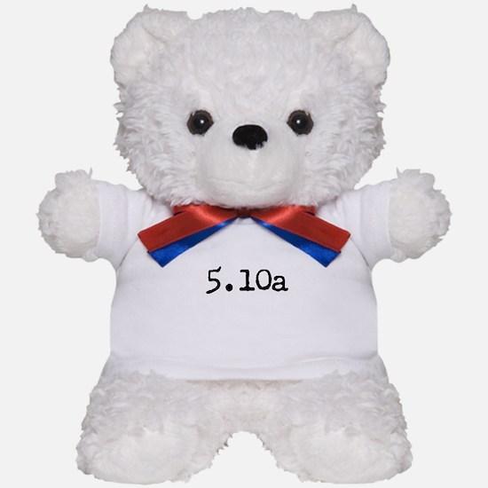 Funny Bouldering Teddy Bear