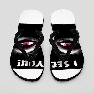 Jmcks I See You Flip Flops