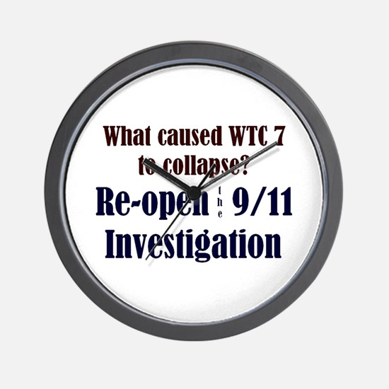 Re-open 9/11 Investigation Wall Clock
