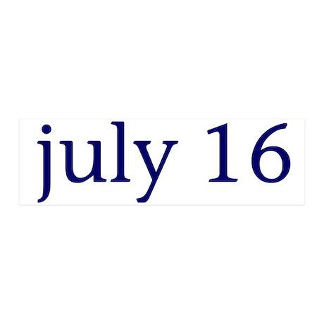 July 16 21x7 Wall Peel