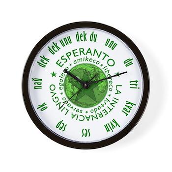 Mondo de Esperanto horloĝo