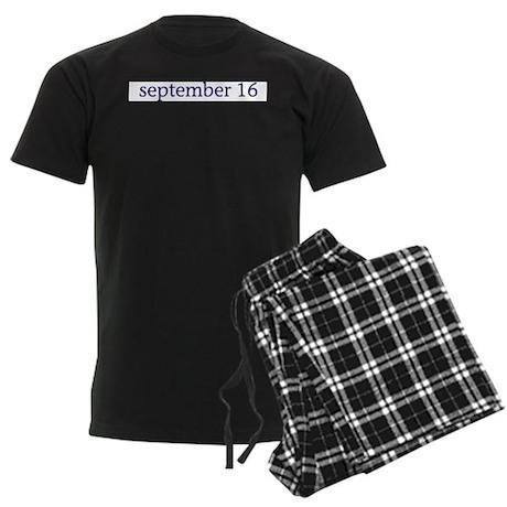 September 16 Men's Dark Pajamas