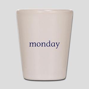 Monday Shot Glass