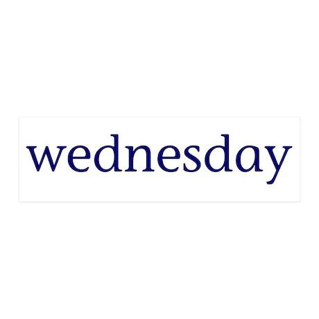 Wednesday 42x14 Wall Peel