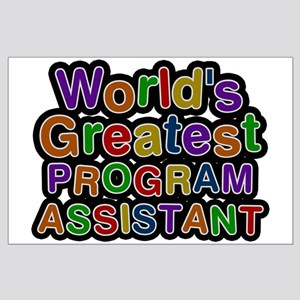World's Greatest PROGRAM ASSISTANT Large Poster