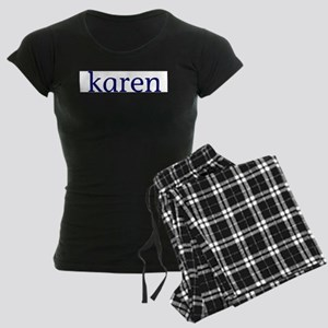 Karen Women's Dark Pajamas