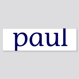 Paul Sticker (Bumper)