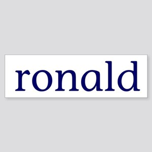 Ronald Sticker (Bumper)