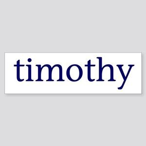 Timothy Sticker (Bumper)