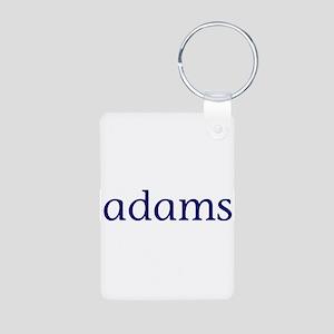 Adams Aluminum Photo Keychain