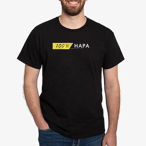 100% HAPA Black T-Shirt