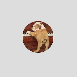 Piano Pup Mini Button