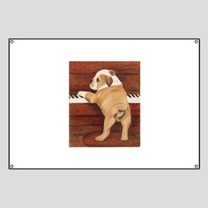 Piano Pup Banner