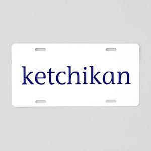Ketchikan Aluminum License Plate