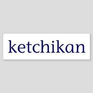 Ketchikan Sticker (Bumper)