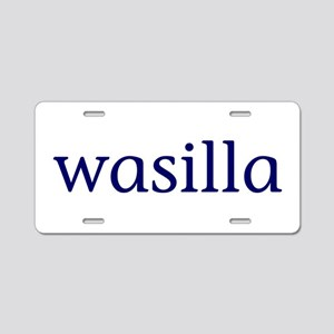 Wasilla Aluminum License Plate