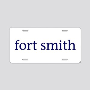 Fort Smith Aluminum License Plate