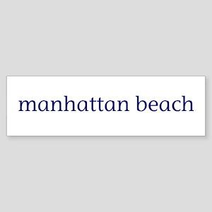Manhattan Beach Sticker (Bumper)