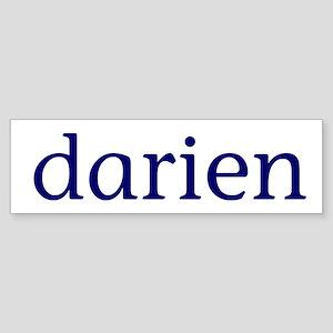Darien Sticker (Bumper)