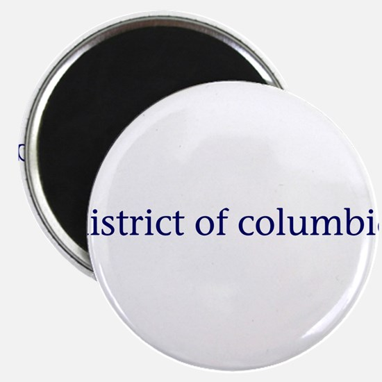 """District of Columbia 2.25"""" Magnet (10 pack)"""