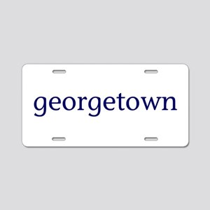 Georgetown Aluminum License Plate