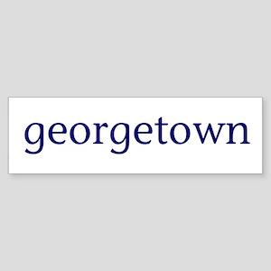 Georgetown Sticker (Bumper)