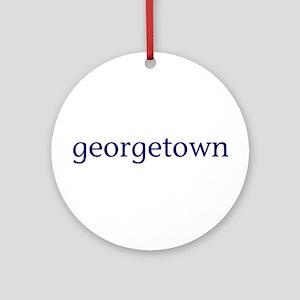 Georgetown Ornament (Round)