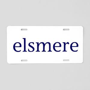 Elsmere Aluminum License Plate