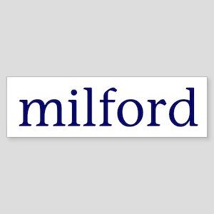 Milford Sticker (Bumper)