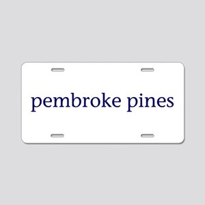 Pembroke Pines Aluminum License Plate
