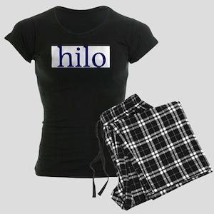 Hilo Women's Dark Pajamas