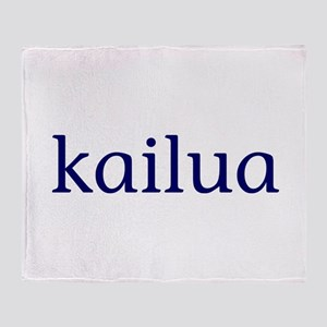 Kailua Throw Blanket