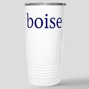 Boise Stainless Steel Travel Mug
