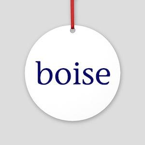 Boise Ornament (Round)