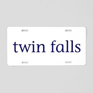 Twin Falls Aluminum License Plate