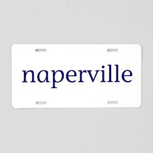 Naperville Aluminum License Plate