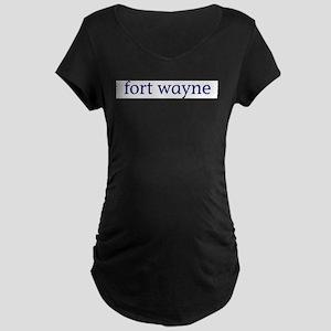 Fort Wayne Maternity Dark T-Shirt