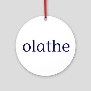 Olathe Ornament (Round)