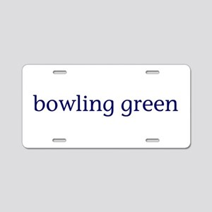 Bowling Green Aluminum License Plate